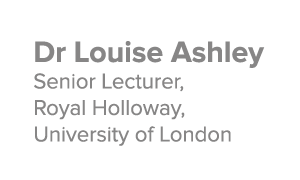 Dr Louise Ashley