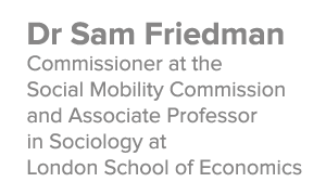 Dr Sam Friedman